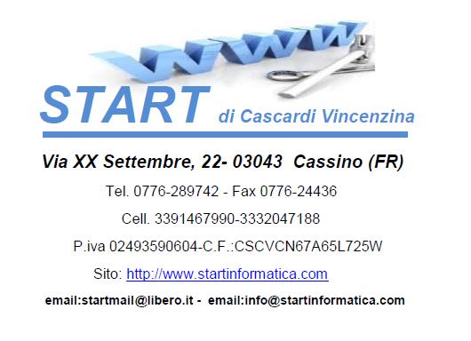 Start di Cascardi Vincenzina