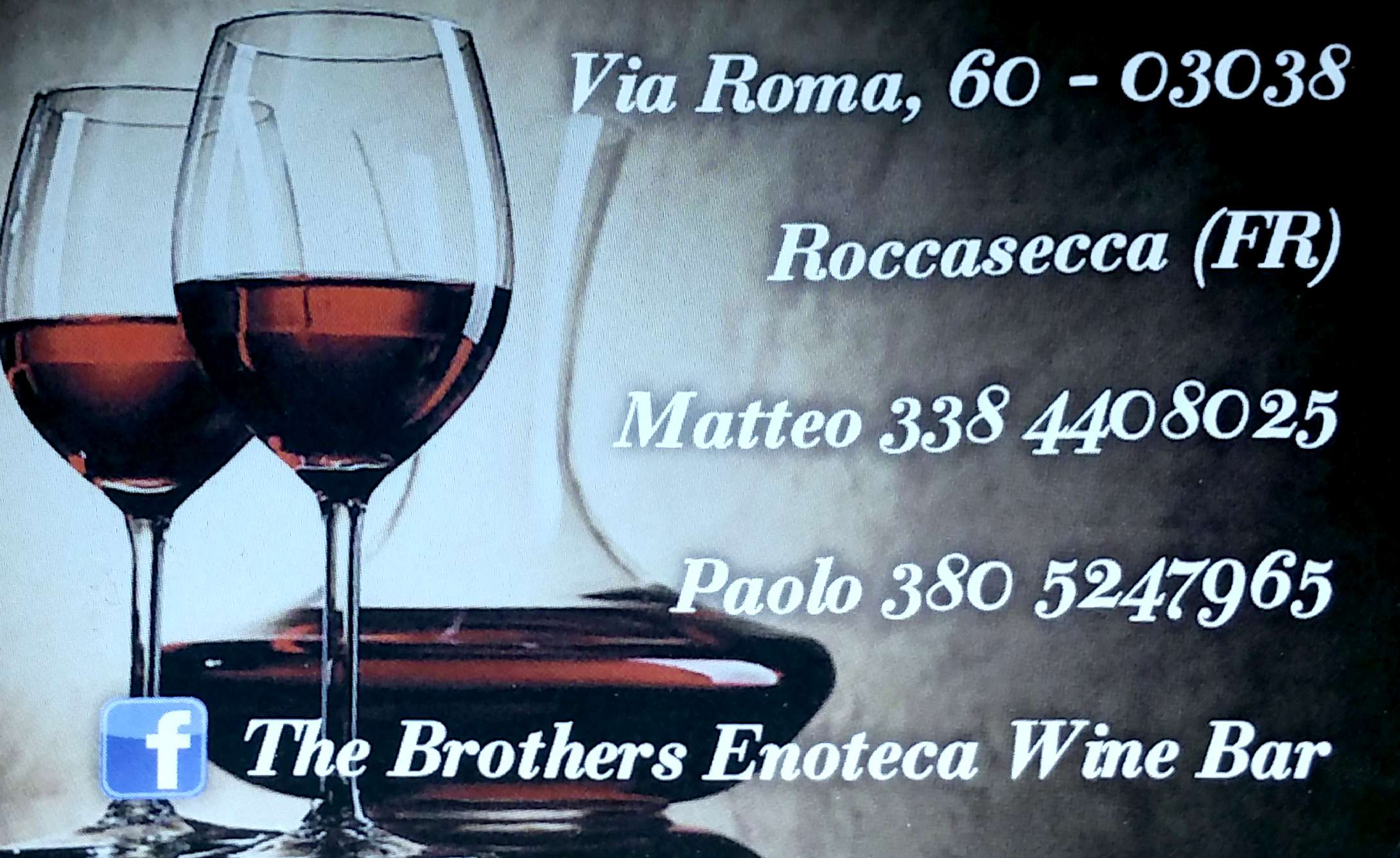 "The Brothers ""Roccasecca"""